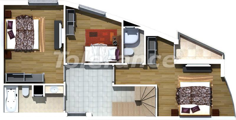 Luxury two-bedroom apartments in Liman, Konyaalti 500 meters from the sea - 471 | Tolerance Homes