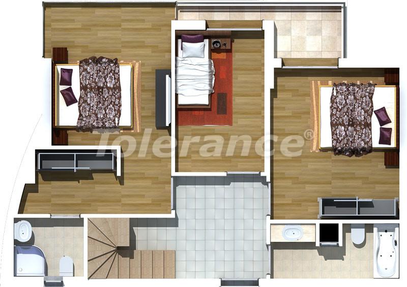 Luxury two-bedroom apartments in Liman, Konyaalti 500 meters from the sea - 467 | Tolerance Homes