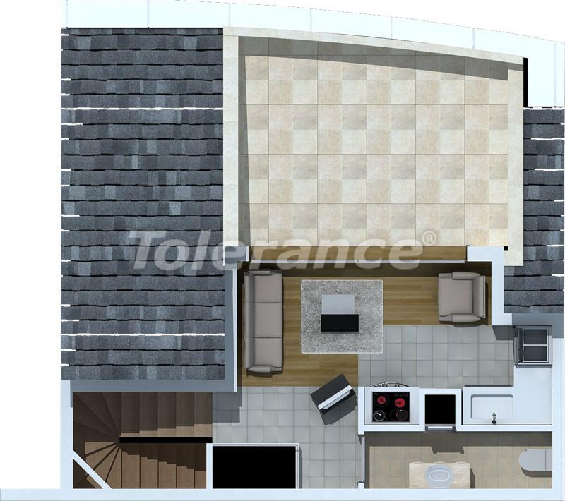 Luxury two-bedroom apartments in Liman, Konyaalti 500 meters from the sea - 470 | Tolerance Homes