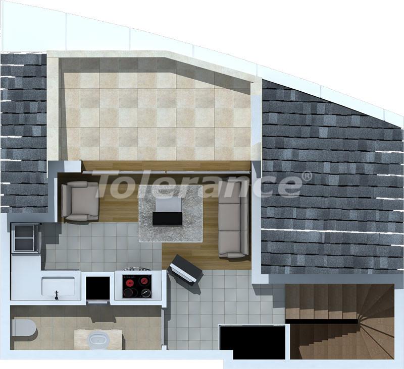 Luxury two-bedroom apartments in Liman, Konyaalti 500 meters from the sea - 472 | Tolerance Homes