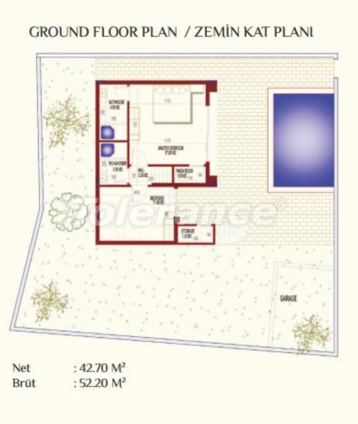 Luxury villas in Kargicak, Alanya with private pool - 8922 | Tolerance Homes