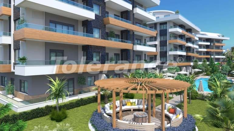 Apartments in Oba, Alanya with indoor pool - 9074 | Tolerance Homes