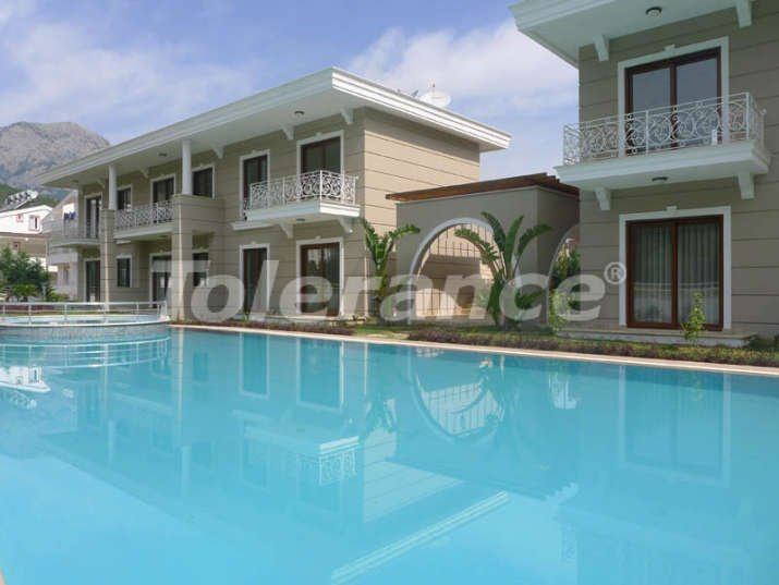 One-bedroom apartments in Kemer near the sea in a complex with swimming pool - 9082   Tolerance Homes