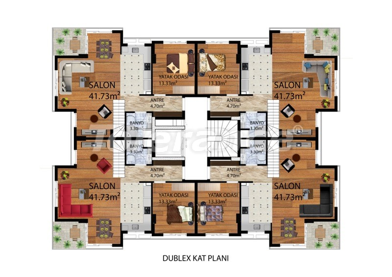 Luxury apartments in Konyaalti, Antalya near the sea from one of the best property developers - 9487   Tolerance Homes