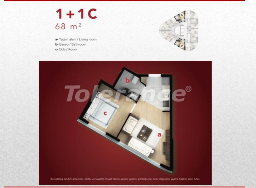 High-quality apartments in Esenyurt, Istanbul profitable for investment - 9689 | Tolerance Homes