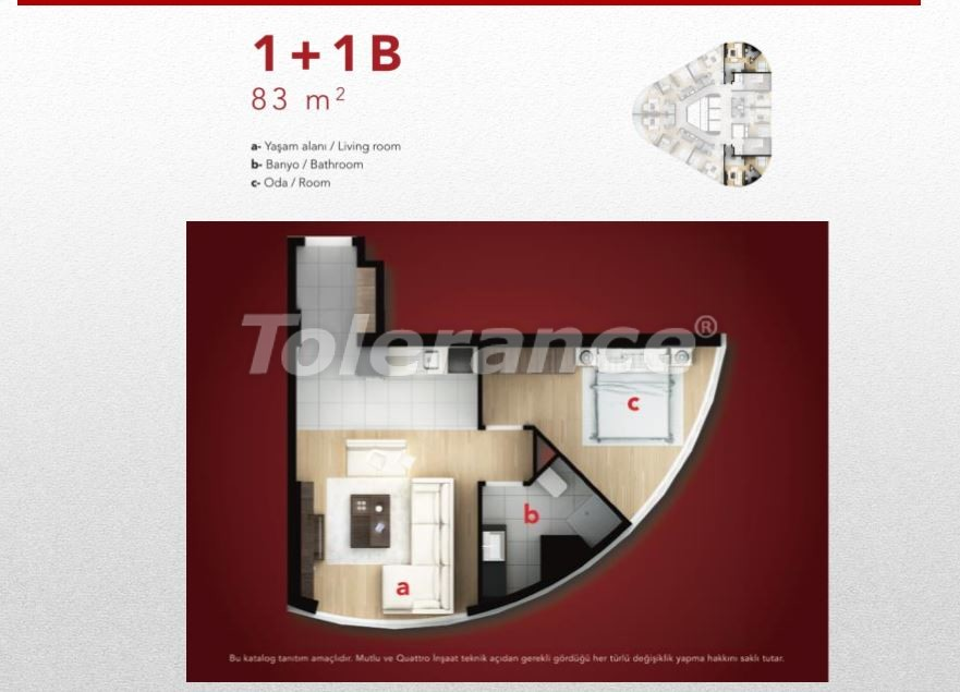 High-quality apartments in Esenyurt, Istanbul profitable for investment - 9687 | Tolerance Homes