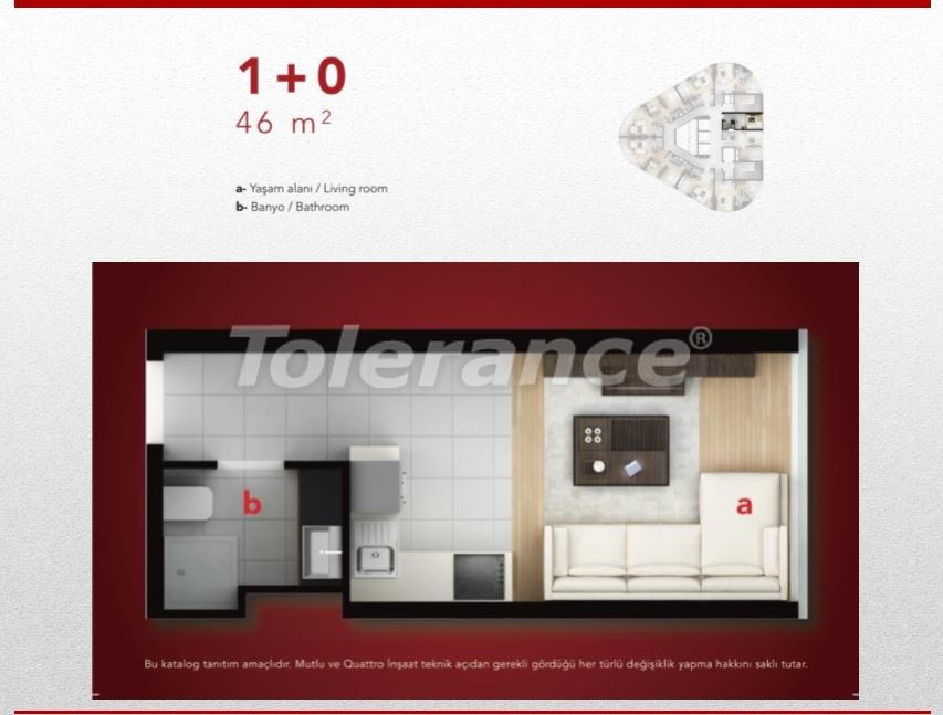 High-quality apartments in Esenyurt, Istanbul profitable for investment - 9686 | Tolerance Homes