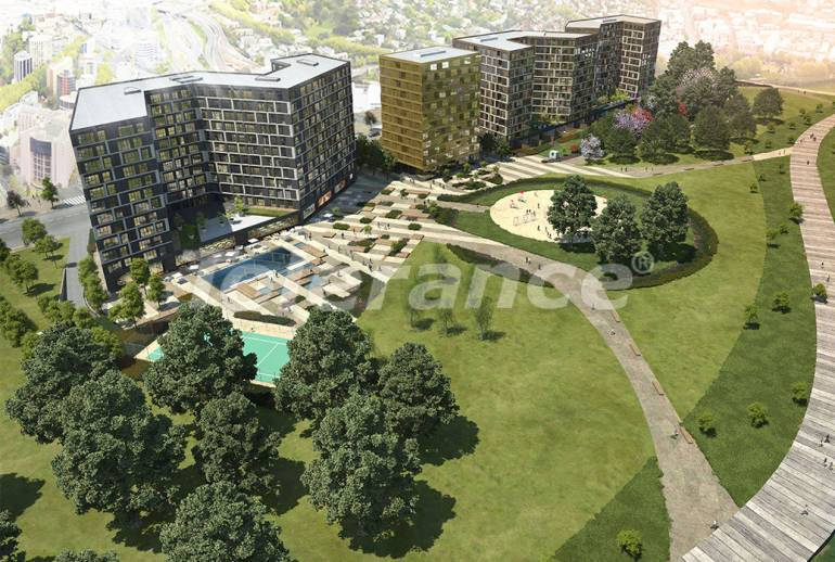 Apartments in Kucukcekmece, Istanbul in a modern complex with installments up to 2 years with rental guarantee - 20339 | Tolerance Homes