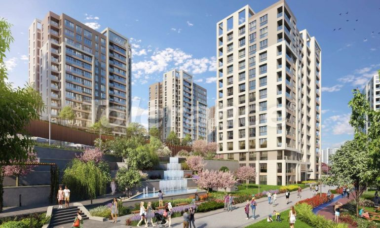 Spacious apartments in Basaksehir, Istanbul in a modern complex with installments up to 1 year - 20583 | Tolerance Homes