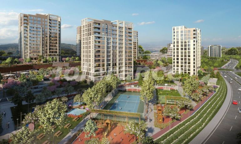 Spacious apartments in Basaksehir, Istanbul in a modern complex with installments up to 1 year - 20595 | Tolerance Homes