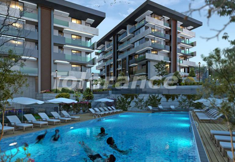 Luxury, comfort and safety in a modern residential complex in the heart of Istanbul! - 10077 | Tolerance Homes