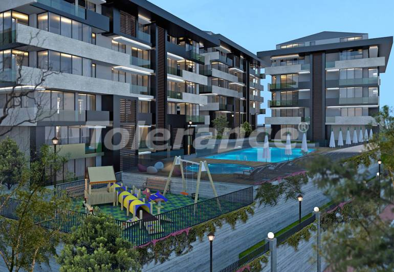 Luxury, comfort and safety in a modern residential complex in the heart of Istanbul! - 10076 | Tolerance Homes
