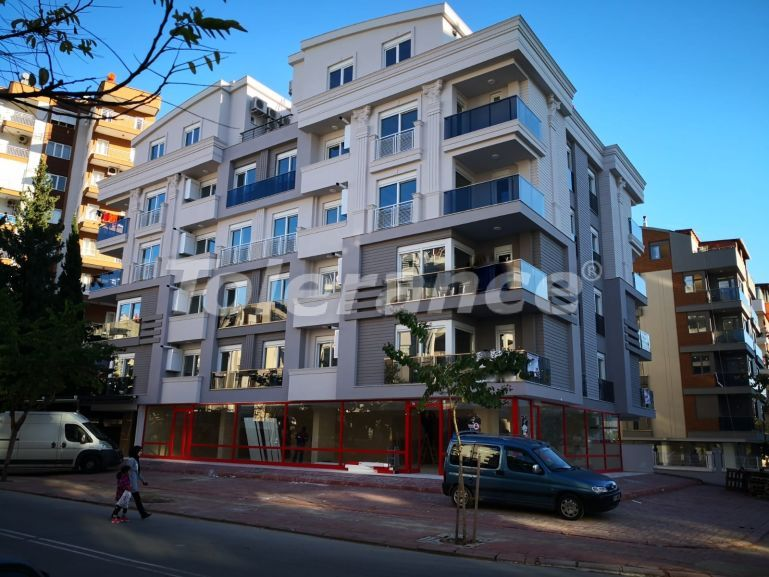 Tree-bedroom resale apartment in Hurma, Konyaalti in a complex with a swimming pool - 18532   Tolerance Homes