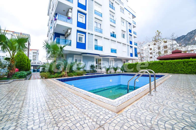 Two-bedroom apartment in Hurma, Konyaalti in a complex with a swimming pool - 10875 | Tolerance Homes