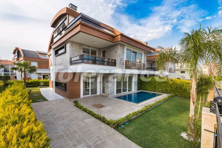 Luxary villas in Lara, Antalyawith private swimming pool and security - 11206 | Tolerance Homes