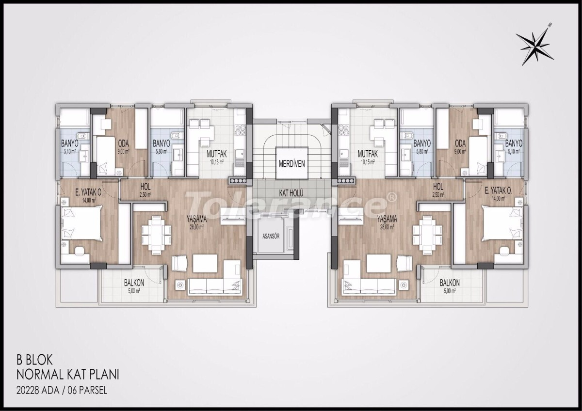 Modern apartments in Konyaalti, Antalya from the best developer - 11597 | Tolerance Homes