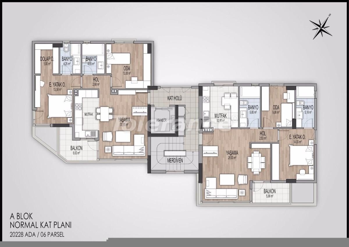Modern apartments in Konyaalti, Antalya from the best developer - 11596 | Tolerance Homes