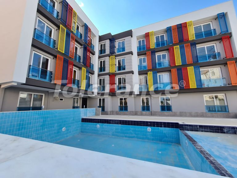 Affordable apartments in Kepez, Antalya in the complex with a swimming pool - 26911 | Tolerance Homes