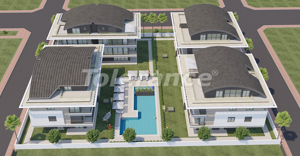 Exclusive luxury apartments in Konyaalti, Antalya just 100 meters from the sea and the promenade - 12022 | Tolerance Homes