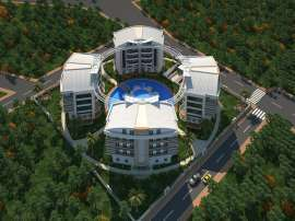 Luxury apartments in Uncali, Konyaalti in the complex with swimming pool - 13659 | Tolerance Homes