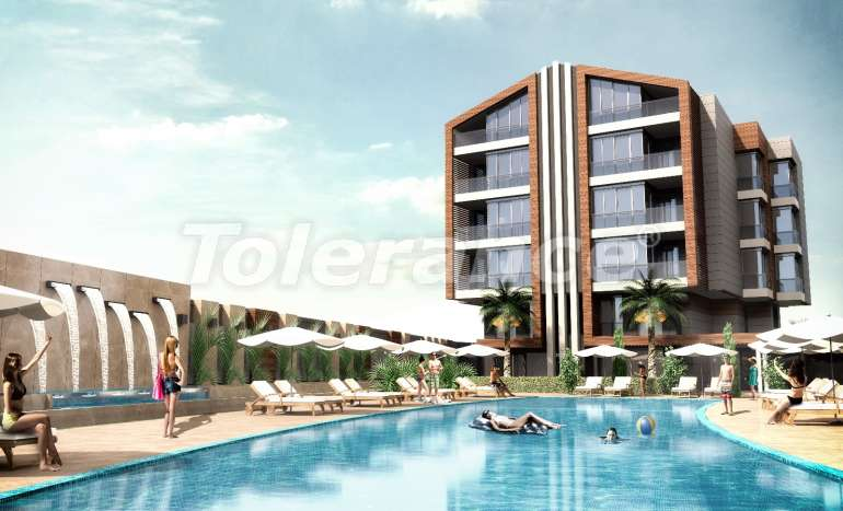 Luxury apartments in Uncali, Konyaalti with indoor and outdoor swimming pools - 13690   Tolerance Homes