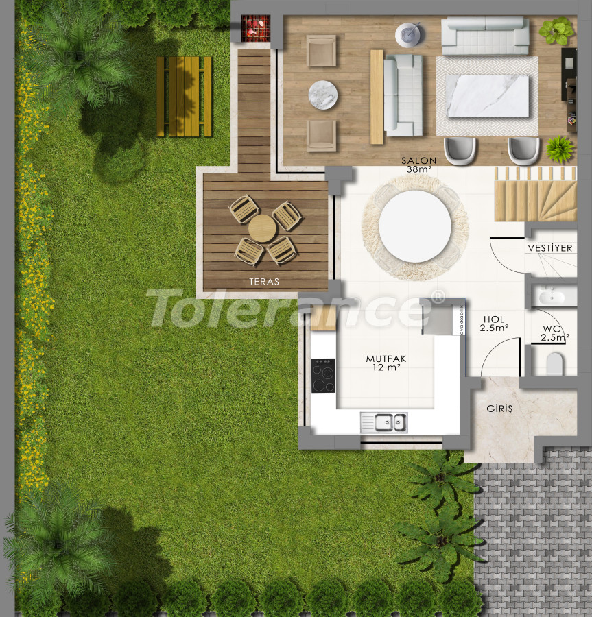 Luxury villas in Konyaalti, Antalya - 13792 | Tolerance Homes