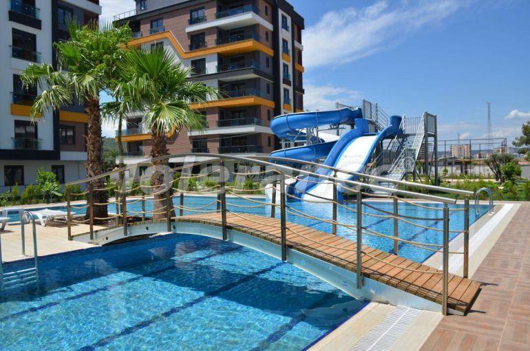 Luxury three bedroom apartments in Kepez, Antalya in a hotel type complex - 30212   Tolerance Homes