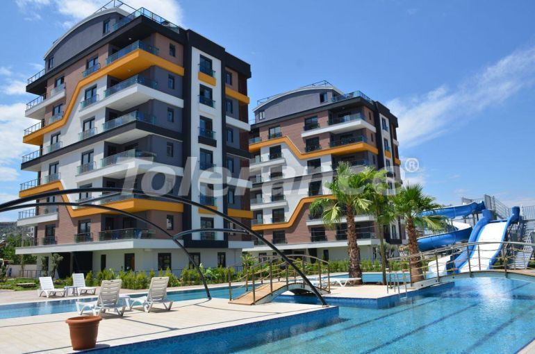 Luxury three bedroom apartments in Kepez, Antalya in a hotel type complex - 30211   Tolerance Homes
