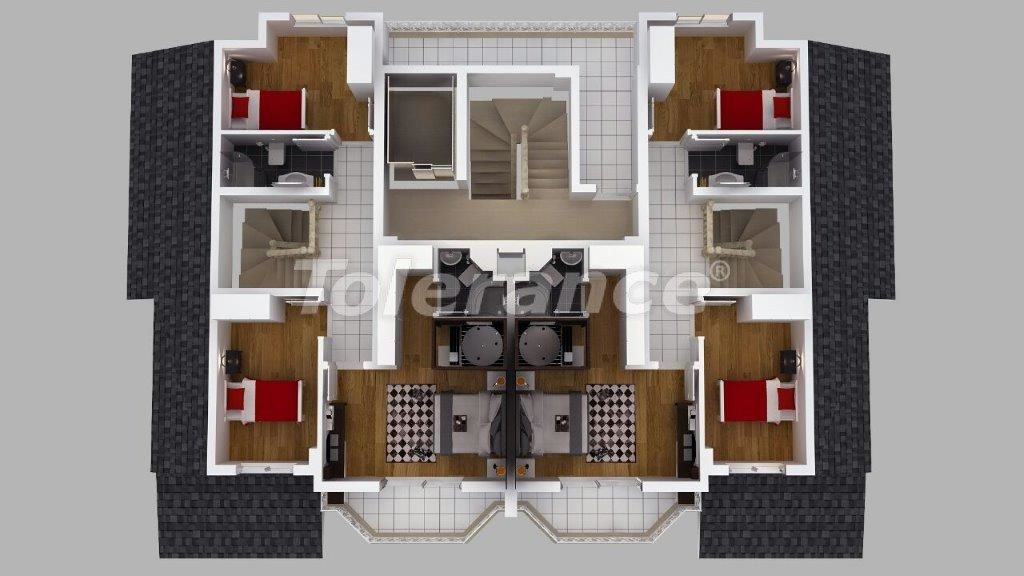 Luxury villas in Doshemealtı, Antalya with Jacuzzi - 13908 | Tolerance Homes