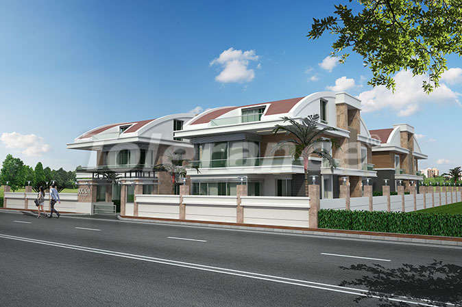 Deluxe Suite villas in Konyaalti, Antalya with the possibility of obtaining Turkish citizenship - 13931 | Tolerance Homes
