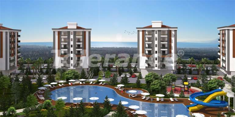Spacious apartments in Kepez, Antalya in the modern complex with swimming pool - 13955 | Tolerance Homes