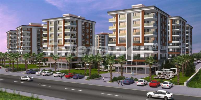Spacious apartments in Kepez, Antalya in the modern complex with swimming pool - 13956 | Tolerance Homes