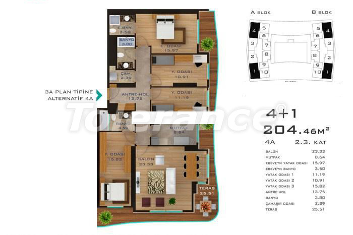 Spacious apartments in Istanbul in developed area with possibility of installments up to 2 years - 14182 | Tolerance Homes