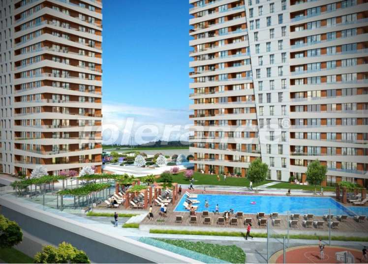Elite apartments in Istanbul in a modern complex with a well-developed infrastructure - 14286 | Tolerance Homes