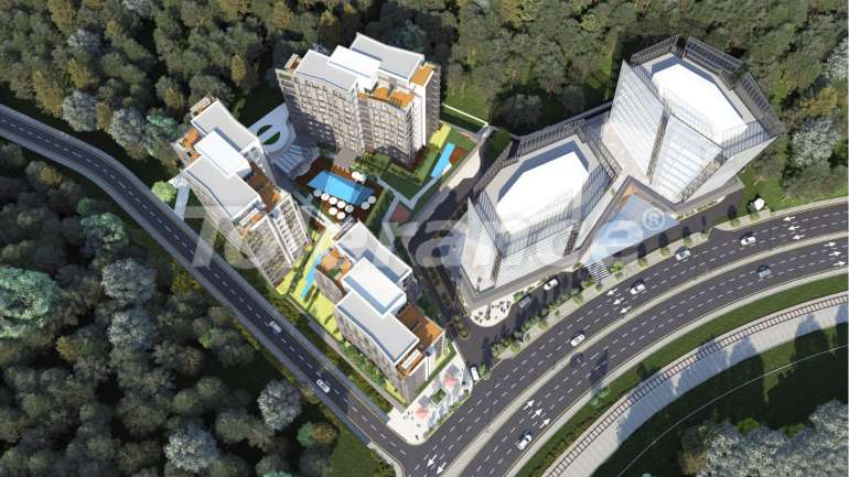 Apartments in Istanbul in a complex with a developed infrastructure - 14332 | Tolerance Homes