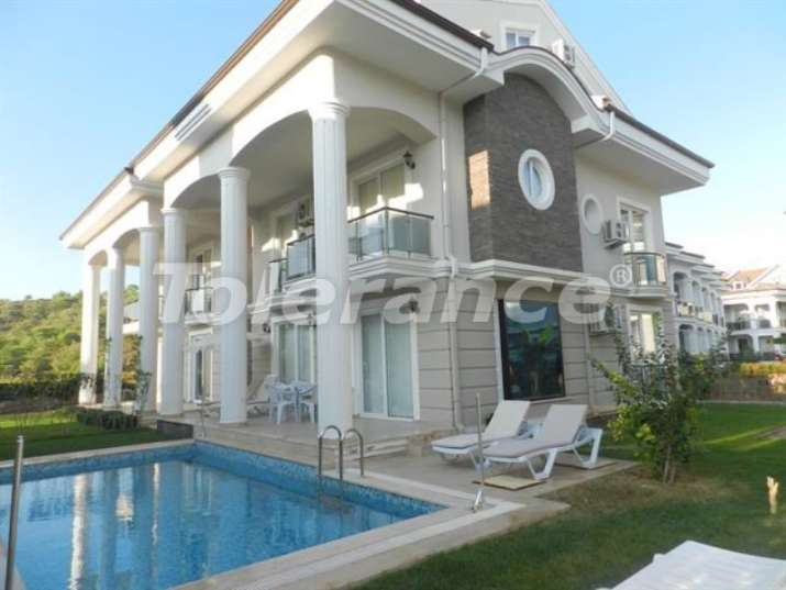Resale villa in Calis, Fethiye in a comfortable complex with private pool - 14447   Tolerance Homes