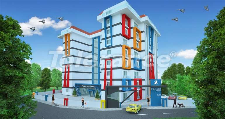 Affordable apartments in Alanya in the modern complex with a swimming pool - 14565   Tolerance Homes