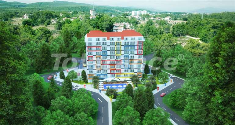 Affordable apartments in Alanya in the modern complex with a swimming pool - 14566   Tolerance Homes