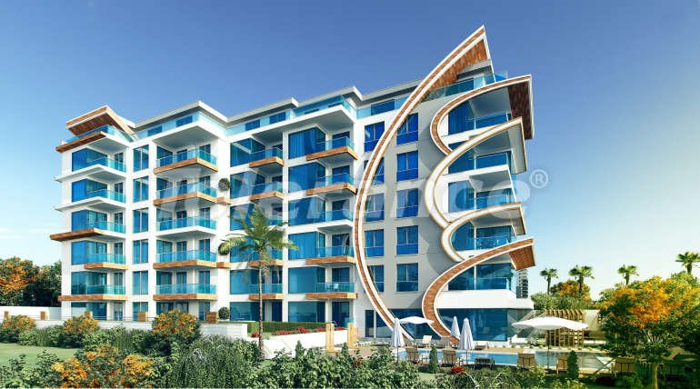 Apartments in Mahmutlar, Alanya in a new complex with the comfort of a luxury hotel - 14844 | Tolerance Homes