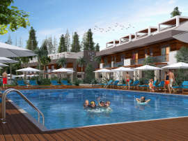 "Apartments in a luxurious complex in Lara, Antalya near the sea, with a ""smart house"" system and a swimming pool - 14879 