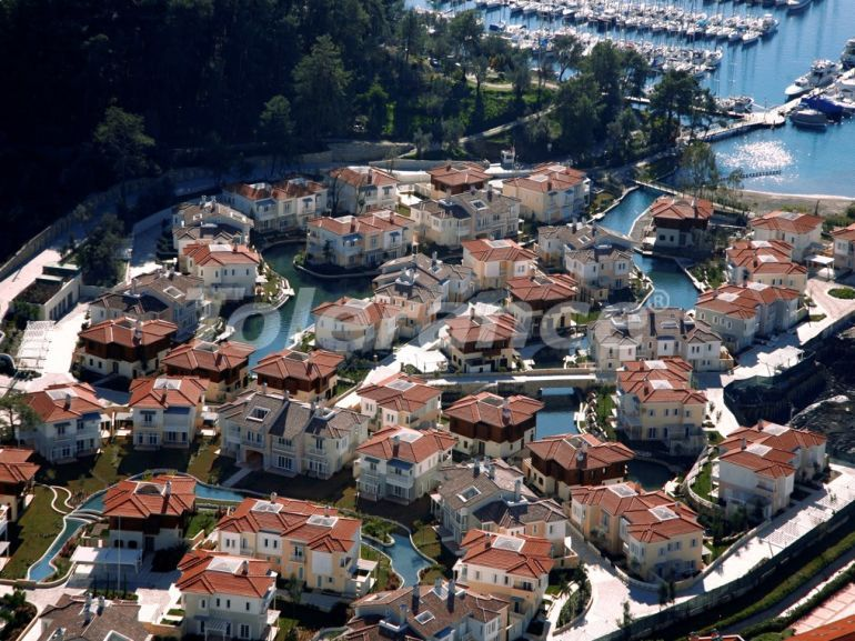 Private villas with special design in Gocek, Fethiye on the sea, with the possibility of obtaining Turkish citizenship - 41716   Tolerance Homes