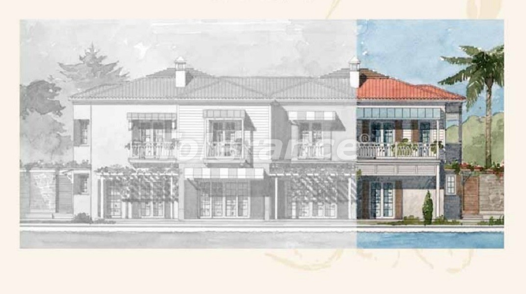 Private villas with special design in Gocek, Fethiye on the sea, with the possibility of obtaining Turkish citizenship - 41745   Tolerance Homes