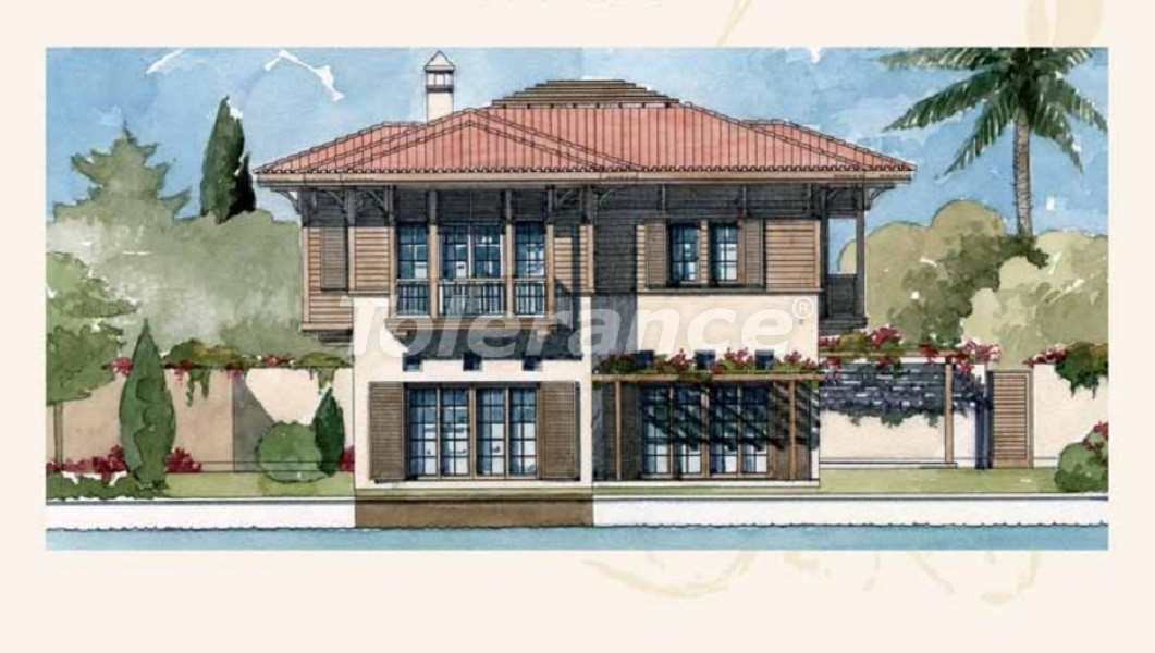 Private villas with special design in Gocek, Fethiye on the sea, with the possibility of obtaining Turkish citizenship - 41750   Tolerance Homes