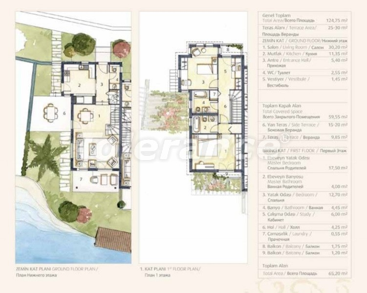 Private villas with special design in Gocek, Fethiye on the sea, with the possibility of obtaining Turkish citizenship - 41743   Tolerance Homes