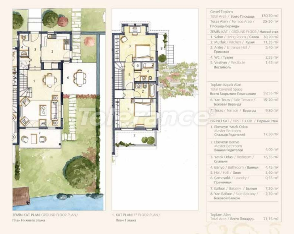 Private villas with special design in Gocek, Fethiye on the sea, with the possibility of obtaining Turkish citizenship - 41751   Tolerance Homes