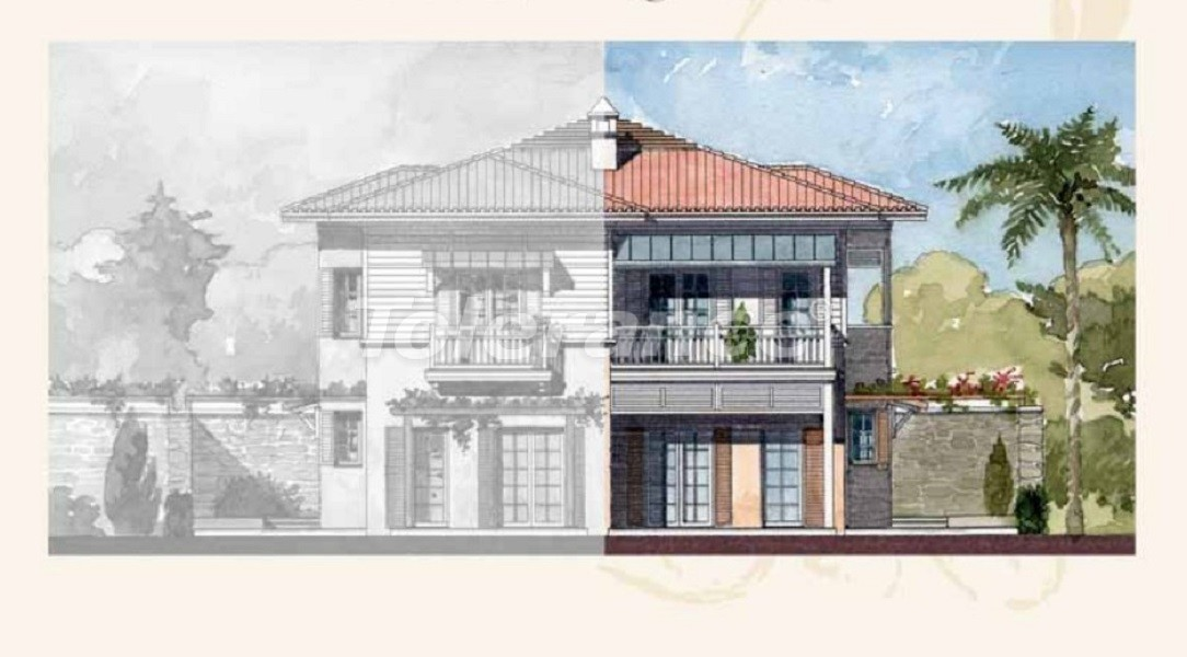 Private villas with special design in Gocek, Fethiye on the sea, with the possibility of obtaining Turkish citizenship - 41752   Tolerance Homes