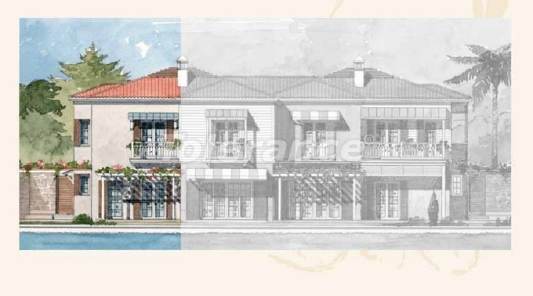 Private villas with special design in Gocek, Fethiye on the sea, with the possibility of obtaining Turkish citizenship - 41744   Tolerance Homes