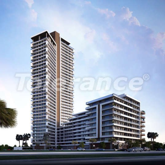 Modern apartments in Izmir, profitable for investment,  in a hotel-type complex - 15083 | Tolerance Homes