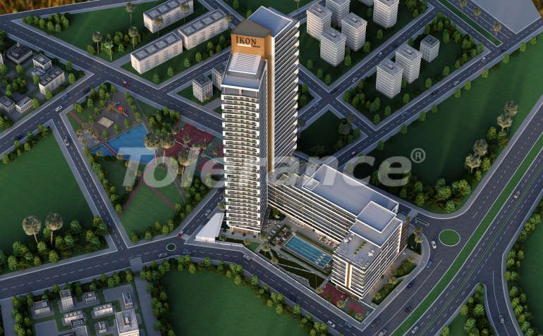 Modern apartments in Izmir, profitable for investment,  in a hotel-type complex - 15082 | Tolerance Homes