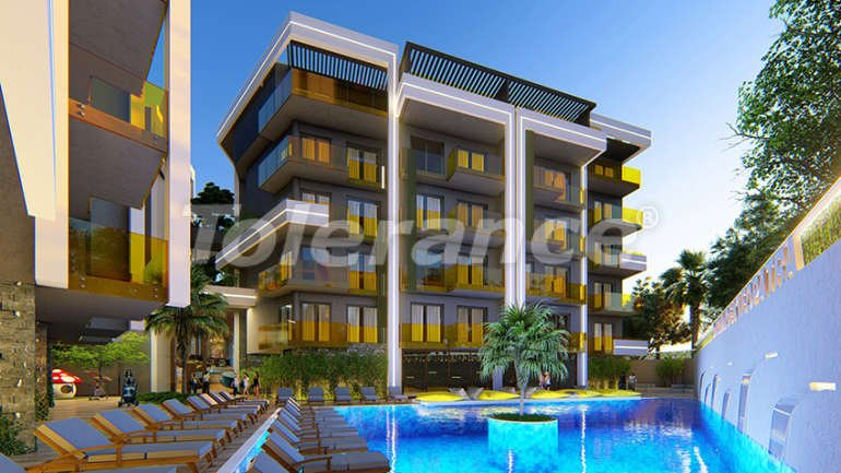 Luxury residential complex in the center of Alanya  - 15161 | Tolerance Homes